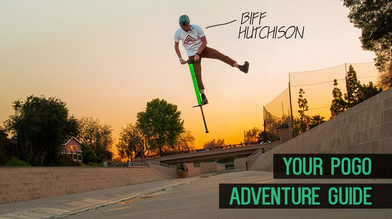 Biff Hutchison Beginner Pogo Stick Tutorials