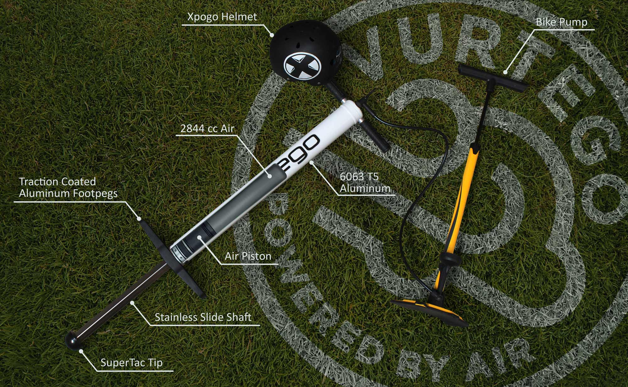 Vurtego Pogo Stick Section Diagram
