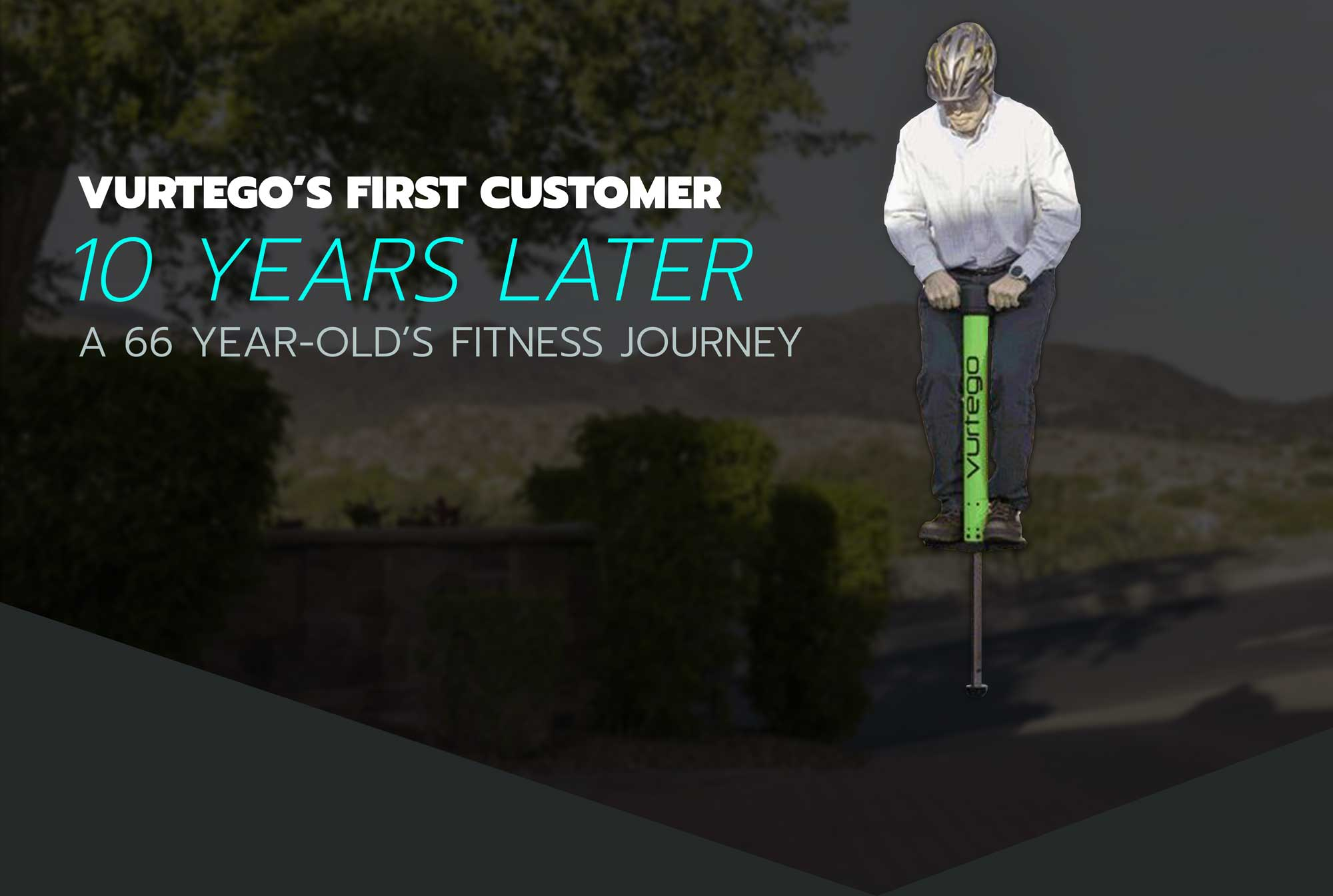 Our Very First Customer's 10 Year Pogo Stick Fitness Journey