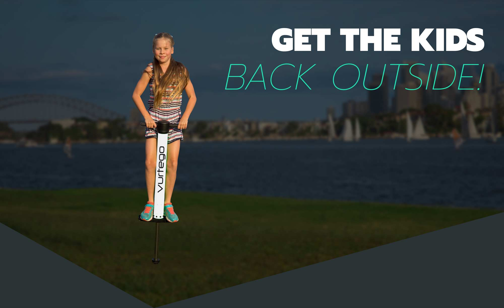 Get the Kids Outside with this Pogo Stick